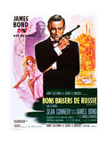 From Russia with Love (aka Bons Baisers De Russie) Print