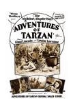 Adventures of Tarzan Poster