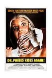Dr. Phibes Rises Again! Plakater