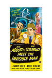 Abbott and Costello Meet the Invisible Man Plakater