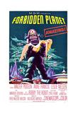 planeta prohibido, El Pósters