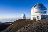 Observatory on Mauna Kea, Big Island, Hawaii, United States of America, Pacific Photographic Print by  Michael