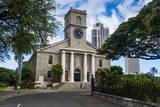 Kawaiahao Church Honolulu, Oahu, Hawaii, United States of America, Pacific Photographic Print by  Michael