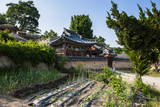 Traditional Wooden House in the Yangdong Folk Village Near Gyeongju, South Korea, Asia Photographic Print by  Michael