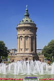 Wasserturm (Water Tower), Mannheim, Baden Wurttemberg, Germany, Europe Photographic Print by  Markus
