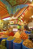 Spice Stall, Medina, Meknes, Morocco, North Africa, Africa Fotografisk tryk af  Neil