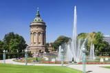 Wasserturm (Water Tower), Mannheim, Baden Wurttemberg, Germany, Europe Photographic Print by  Markus