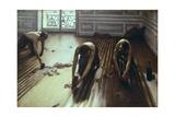 Les raboteurs de parquet Posters par Gustave Caillebotte