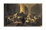 Scene of the Inquisition Poster von Suzanne Valadon