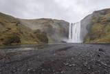 Skogafoss, Iceland, Polar Regions Impressão fotográfica por  Michael