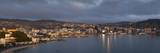Panorama of Wellington City and Harbour Photographic Print by Nick Servian