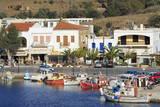 Port of Gavrio, Andros Island, Cyclades, Greek Islands, Greece, Europe Fotografisk tryk af  Richard
