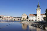View over the River Vltava to Smetana Museum Photographic Print by  Markus