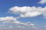 Cumulus Clouds, Blue Sky, Summer, Germany, Europe Photographic Print by  Markus