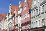 Traditional Colorful Facades on Reichstradtstrasse Photographic Print by  Markus