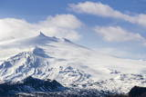 Snaefellsjokull, Snaefellsnes Peninsula, Iceland, Polar Regions Impressão fotográfica por  Michael