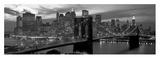 Brooklyn Bridge and Skyline Affischer av Richard Berenholtz