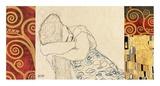 Woman Resting Láminas