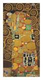 Tree of Life (Brown Variation) III Posters by Gustav Klimt