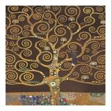 Tree of Life (Brown Variation) II Posters by Gustav Klimt