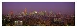 Manhattan at Night Affischer av Richard Berenholtz