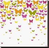 Butterfly Cloud Stretched Canvas Print by Max Carter