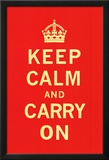 Keep Calm and Carry On Prints