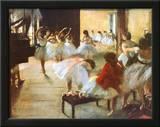 Ecole de Danse Prints by Edgar Degas