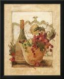 Vino e Grapa I Art by Carol Robinson
