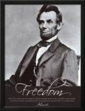 Freedom: Abraham Lincoln Prints