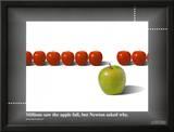 Apple / Newton Poster