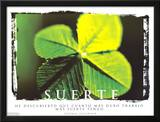 Suerte- Luck Posters