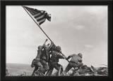 Flag Raising on Iwo Jima, c.1945 Poster by Joe Rosenthal