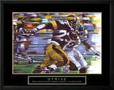 Strive: Football Prints by Bill Hall