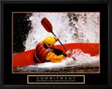 Commitment: Kayak Art