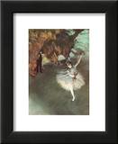 The Star Print by Edgar Degas