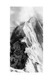 Mountain Peak Poster by Alexis Marcou