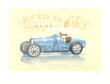 Bugatti-Helle Nice Samlertryk af Xavier La Victoire