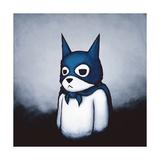 Bat Bear Kunst på metal af Luke Chueh