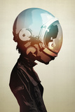 Space Cadet Poster von Hidden Moves