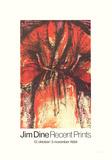 Robe Impressão colecionável por Jim Dine