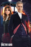 Doctor Who - Doctor & Clara Stampe
