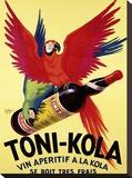 Toni Kola Sträckt kanvastryck av  Robys (Robert Wolff)
