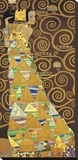Tree of Life (Brown Variation) I Stretched Canvas Print by Gustav Klimt
