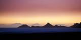 Dusk on the Edge of the Salar De Uyuni on Bolivia's Altiplano Reproduction photographique par Sergio Ballivian