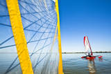 Sailing the Hobie Mirage Adventure Island Kayak Along the Columbia River Near Pasco, Washington Photographic Print by Ben Herndon