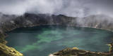 Quilotoa Crater Lake, Ecuador Reproduction photographique par Patrick Brandenburg