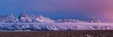 Sunrise Lights the Northern End of Jackson Hole in Grand Teton National Park, Wyoming Fotografisk trykk av Mike Cavaroc