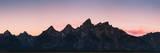 Mountain Range in Grand Teton, Wyoming Reproduction photographique par Patrick Brandenburg