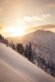 Winter Sunrise over Patsy Marley, Alta, Utah Photographic Print by Louis Arevalo